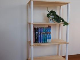 ウッドポール作品例 本棚